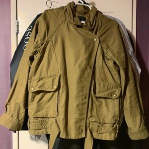 TWO LIGHTLY USED ARITZIA JACKETS (SMALL)